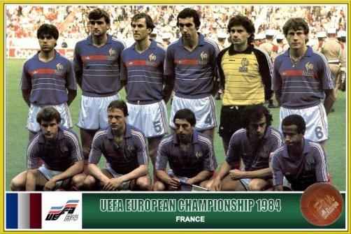 1984 Frankrijk Europees Kampioen